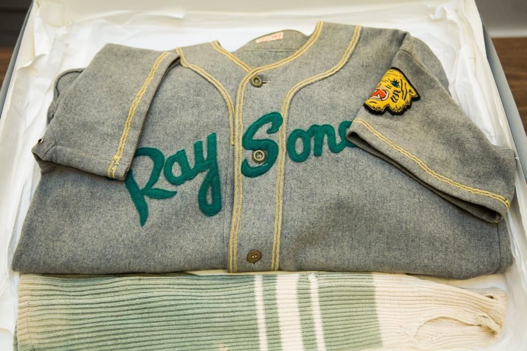 old baseball jersey