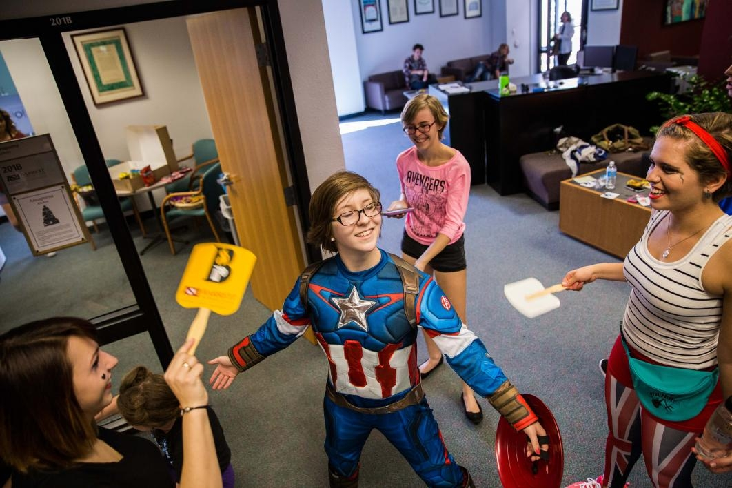 Kaitlyn DiLorenzo on superhero day