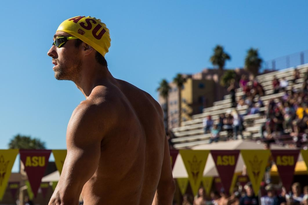 Phelps looks to life outside the pool at asu asu now access excellence impact for University of arizona swimming pool
