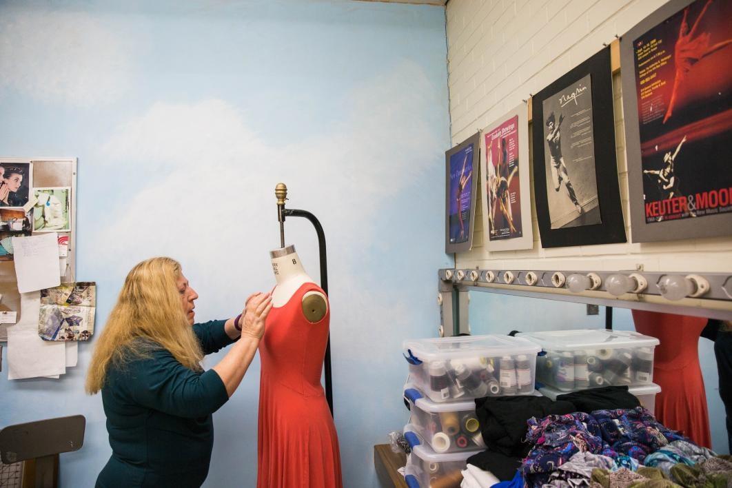 The ASU dance costume shop.