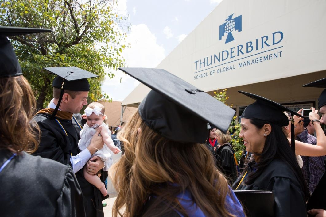 Thunderbird graduation