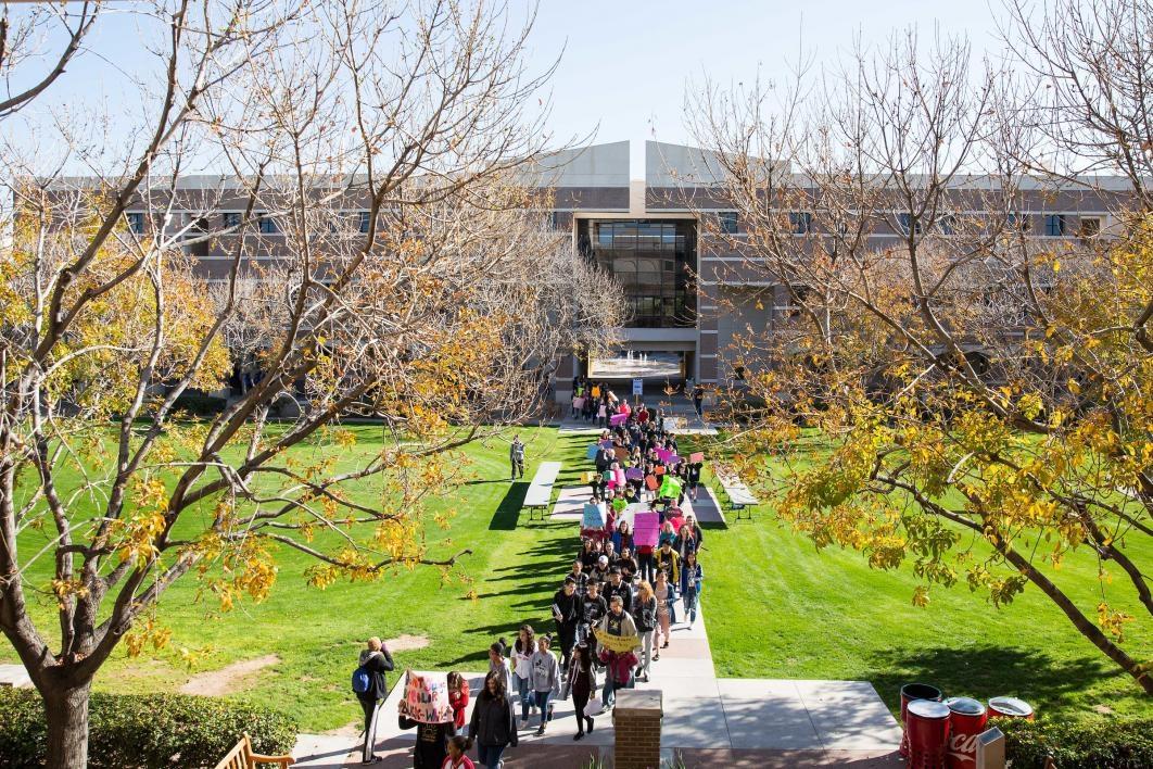 March on ASU West campus