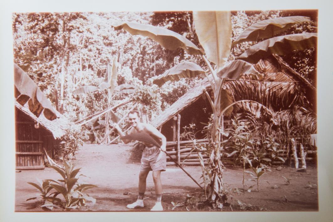 Charlie OBrien at Solomon Islands
