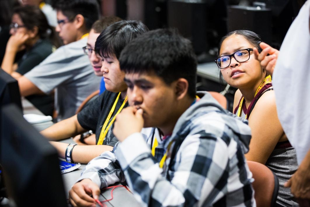 Native American students experience week of college life in ASU's Inspire camp 20170623inspire_04