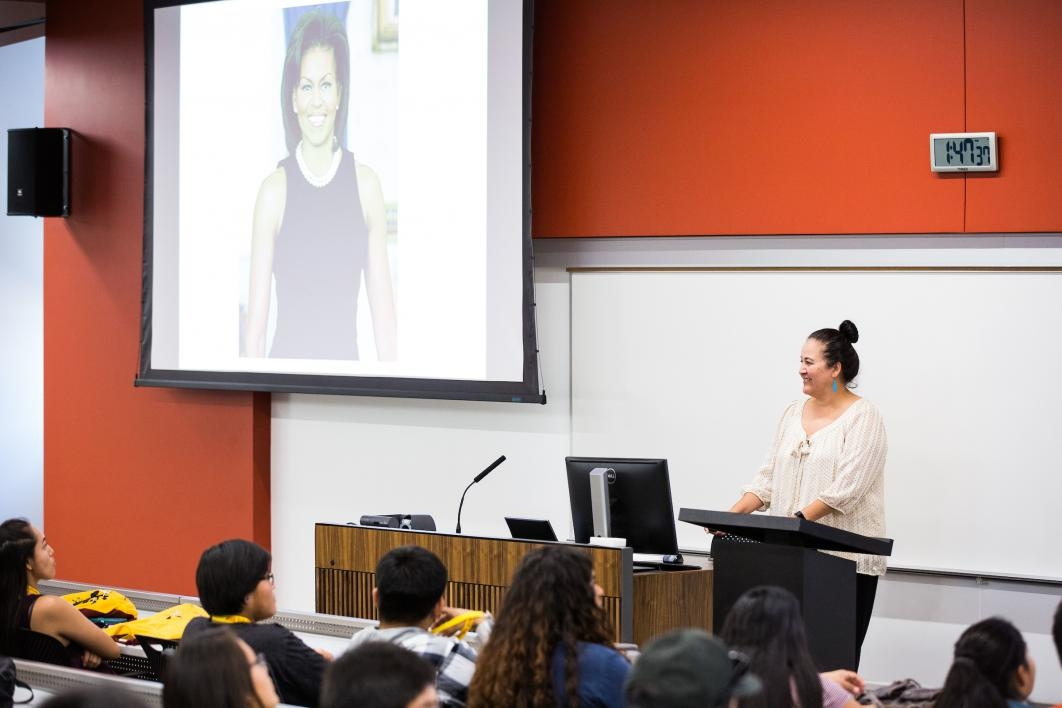 Kate Rosier, executive director of ASU's world-renowned Indian Legal Program, talks to Inspire participants