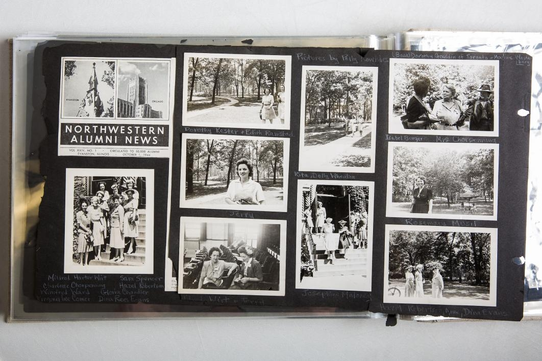 A scrapbook from the Child Drama Collection