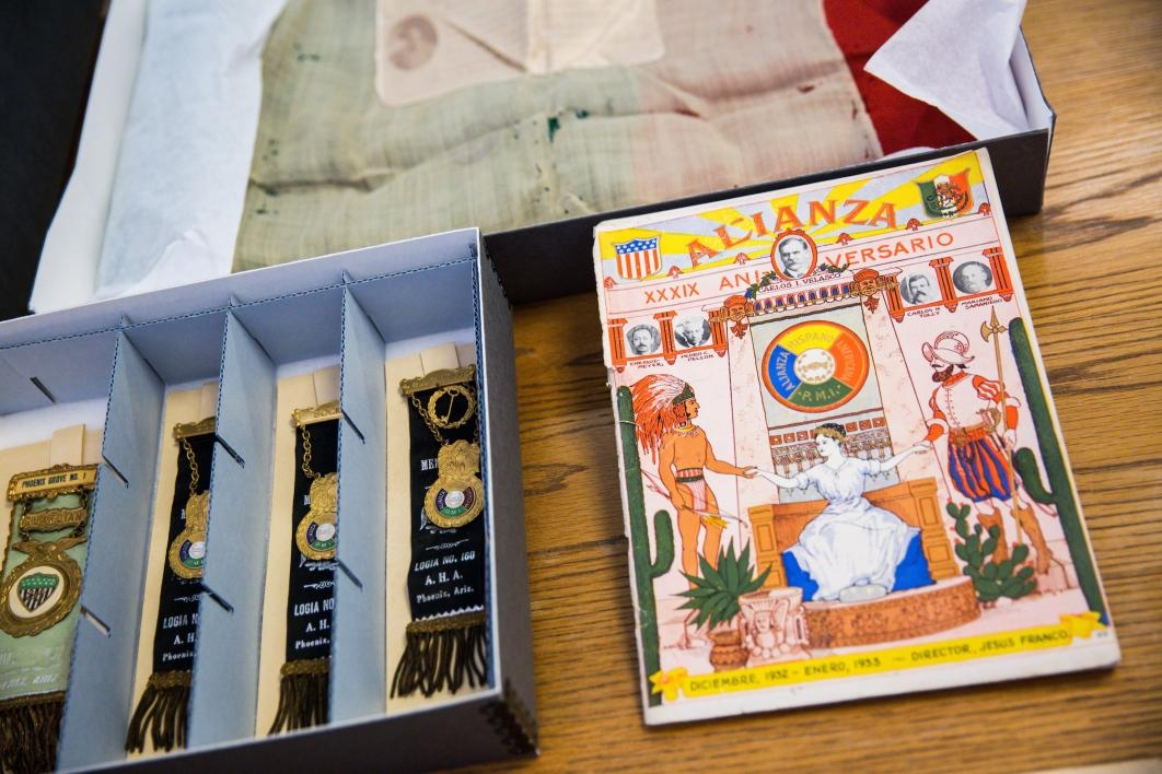 Archival items from the ASU Chicano/a collection
