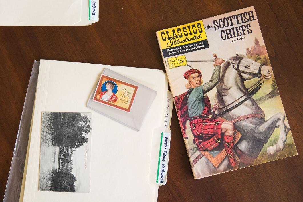 comic book and cigar card