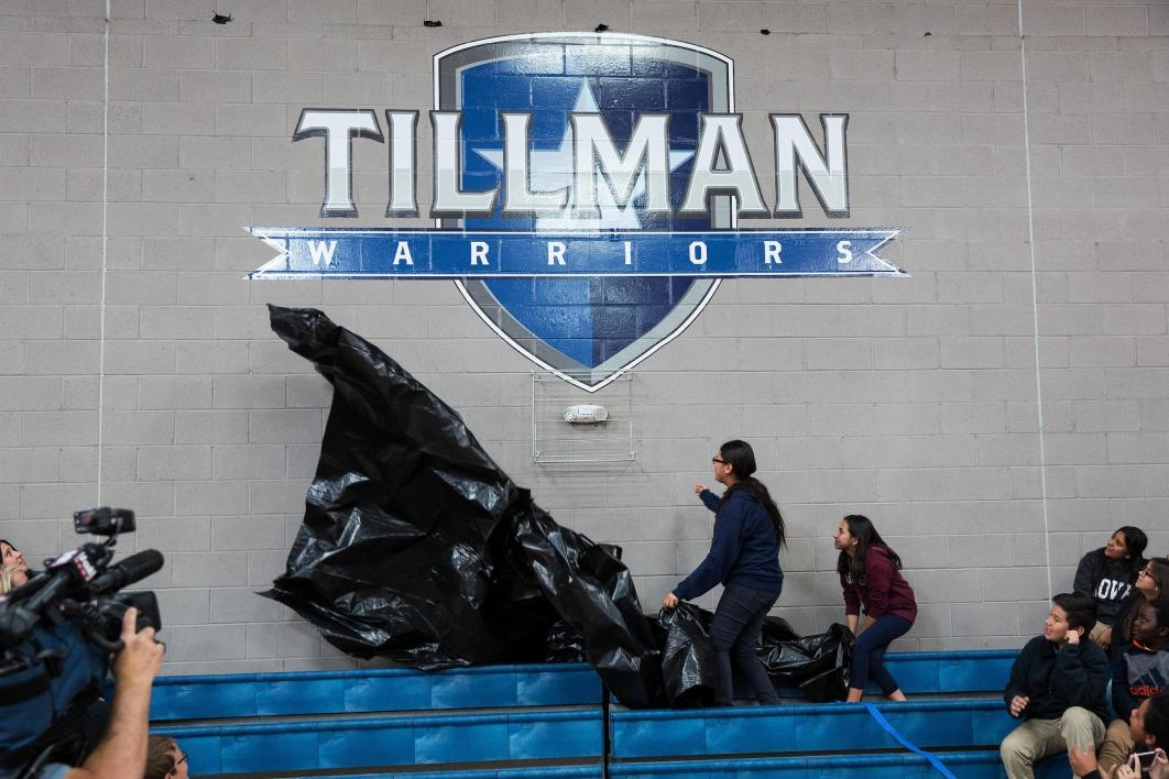 Tillman Warriors sign