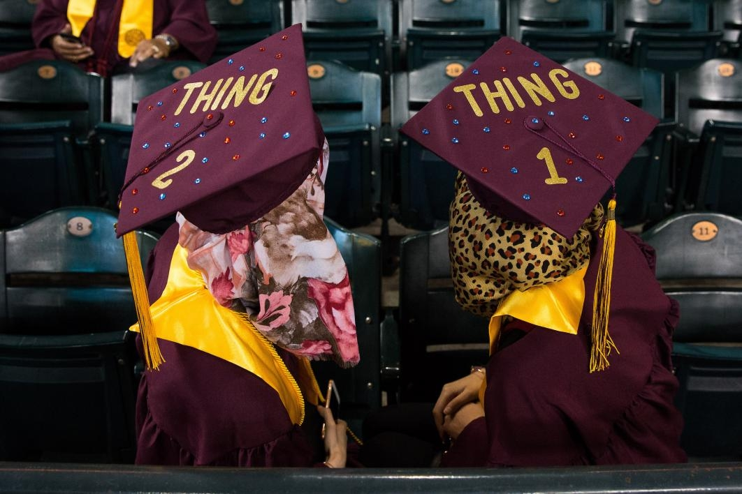 Spring 2018 commencement in photos  7e4b91009598
