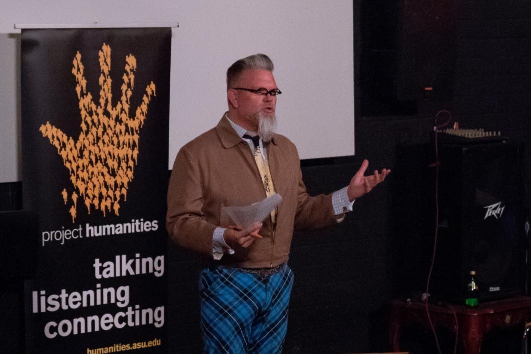 Historian Marshall Shore speaks at FilmBar
