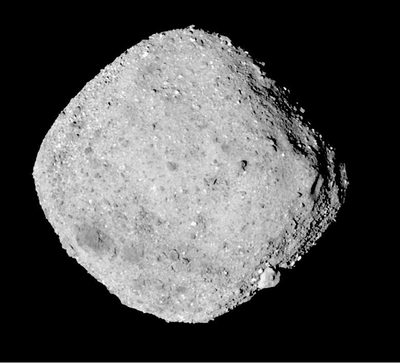 Asteroid Bennu on December 3, 2018