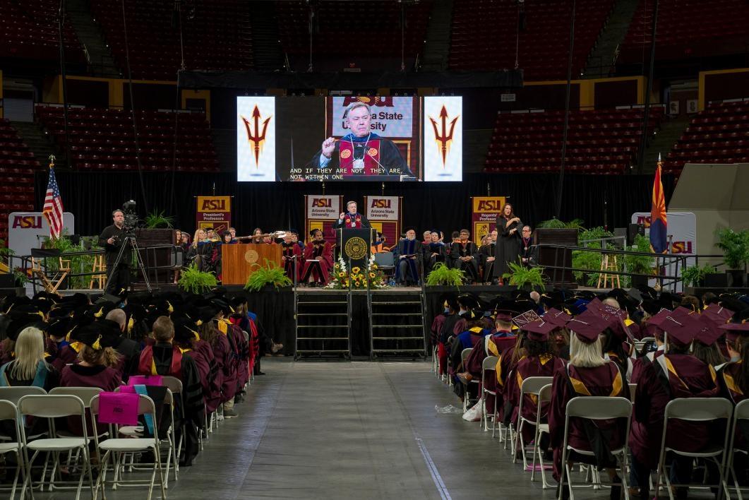ASU fall 2018 graduate commencement