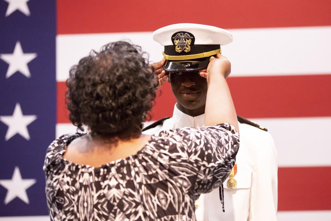 Naval Science Commissioning Ceremony