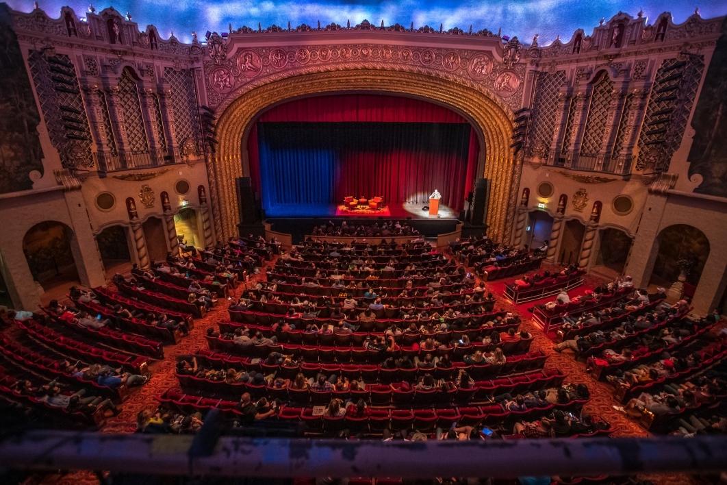 interior of the Orpheum Theatre in Phoenix