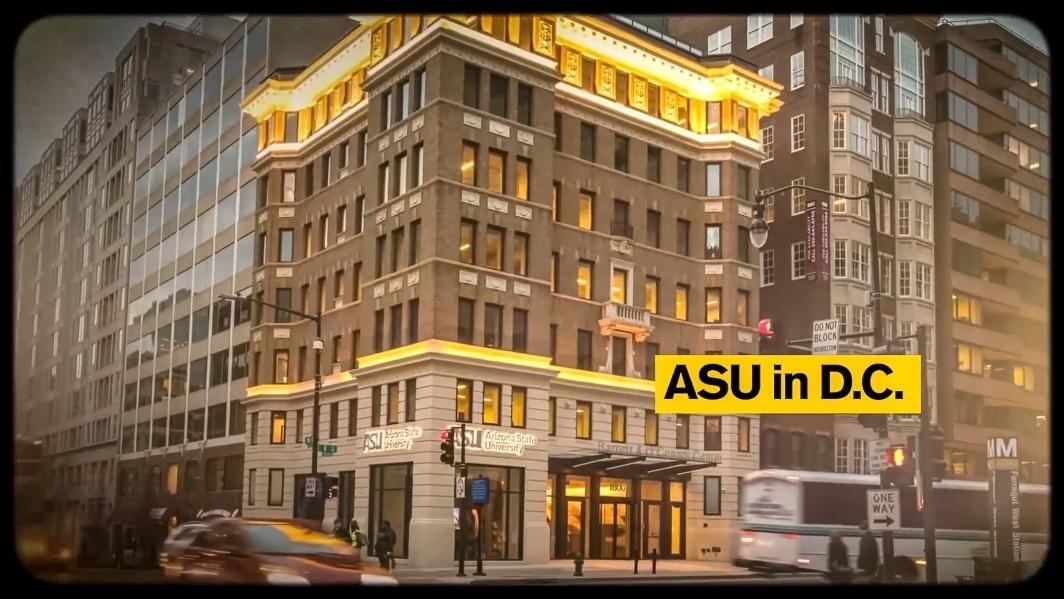 The ASU center in Washington DC