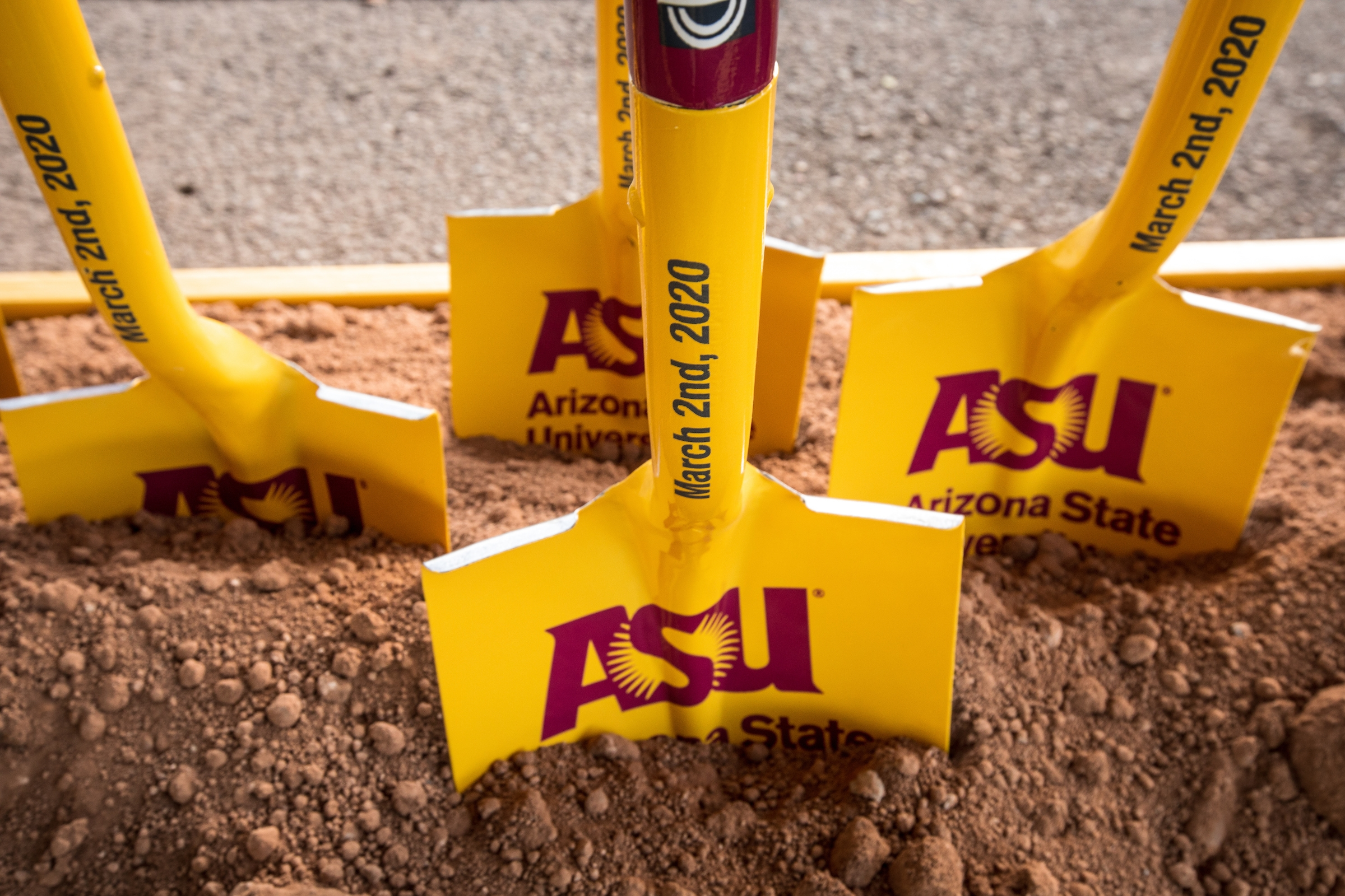 ceremonial asu shovels