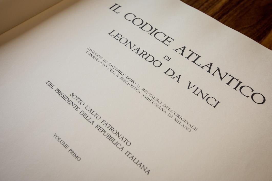 page from Da Vinci codice