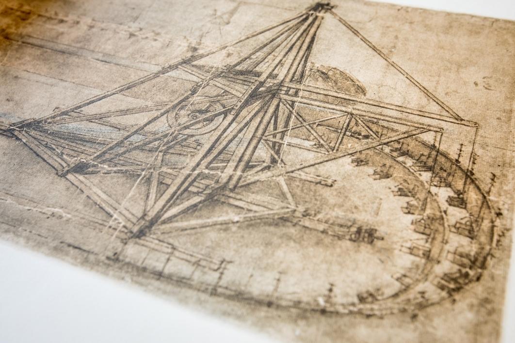 drawing in the Leonardo da Vinci codice