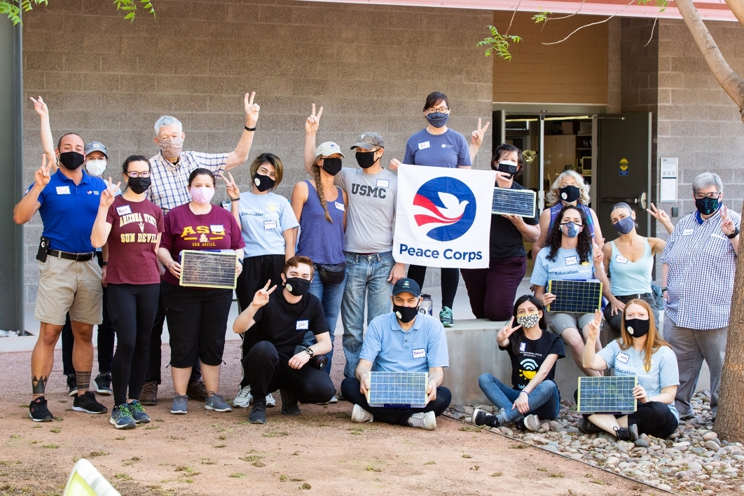 Solar Spell build crew