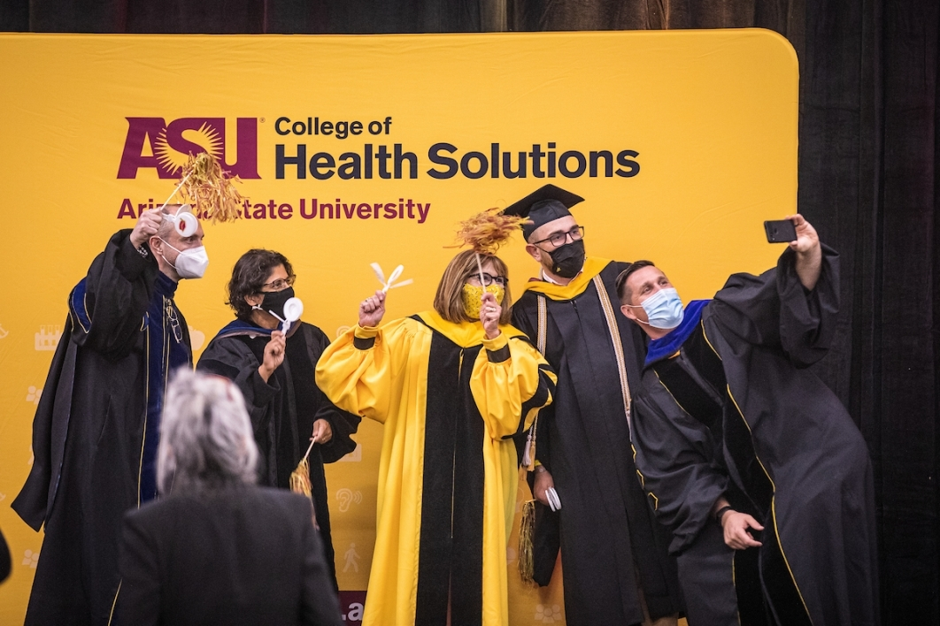 College of health solutions celebration