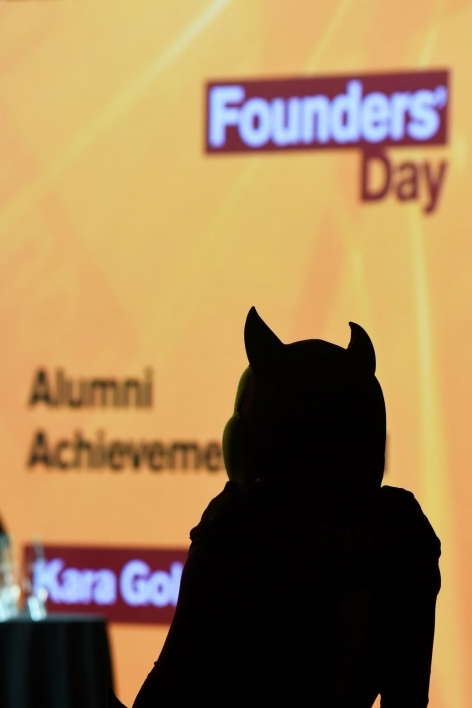 Sparky at Founders' Day