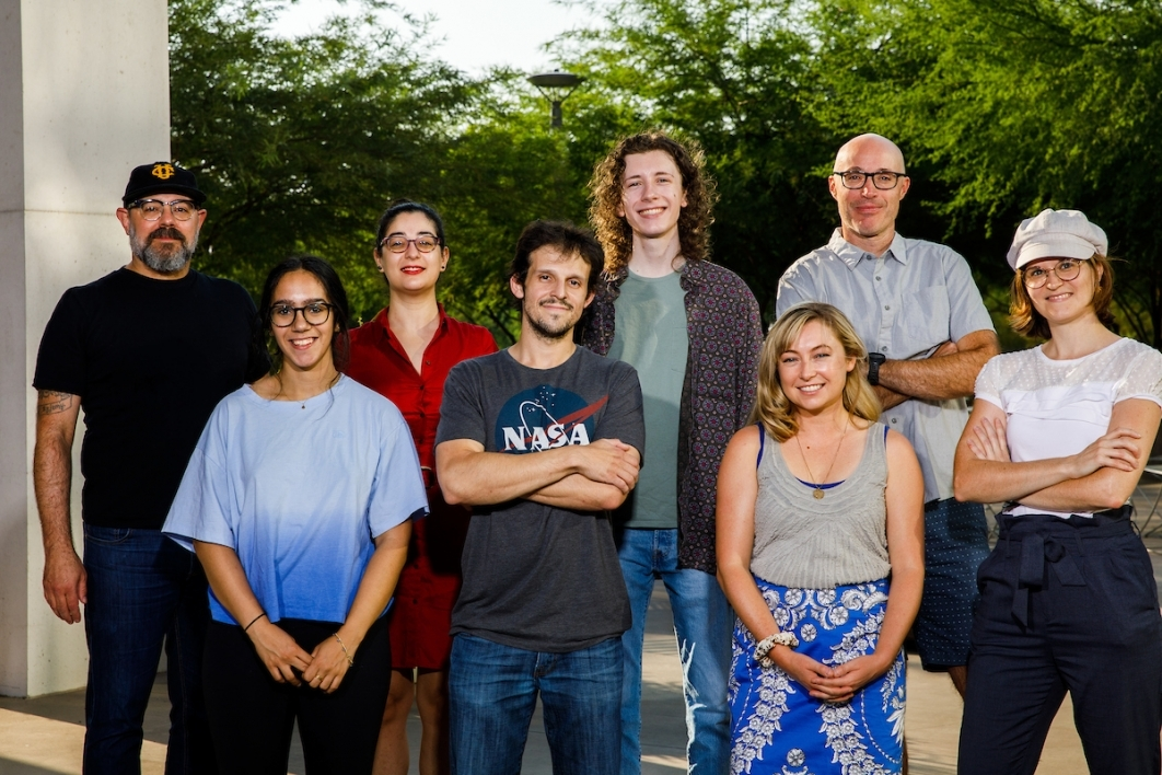 Members of the John McCutcheon lab