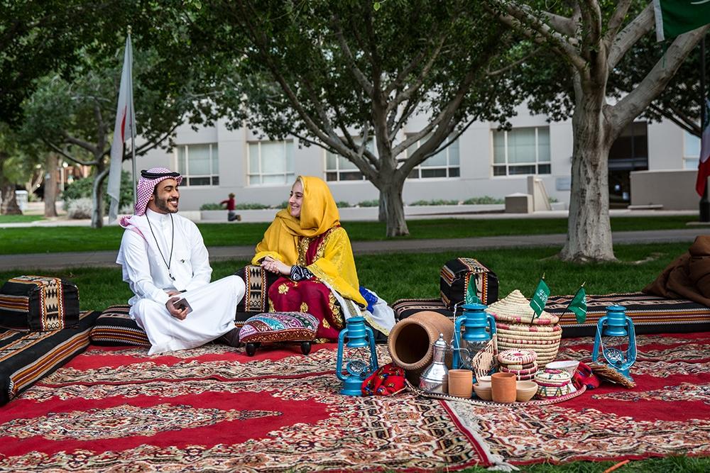 Saudi display