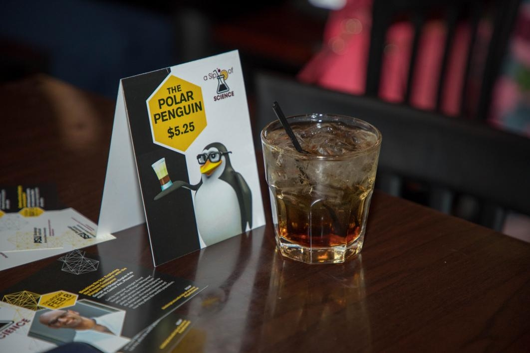 The George and Dragon restaurant in central Phoenix created a special drink for the event