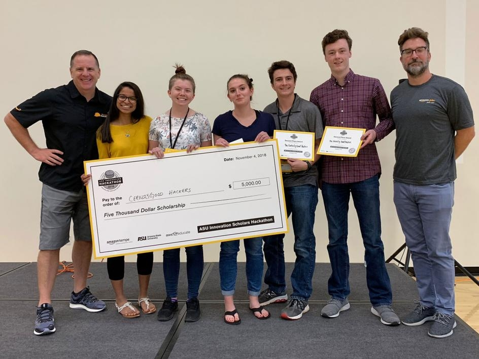 Ceriously Good Hackers place second in AI Hackathon