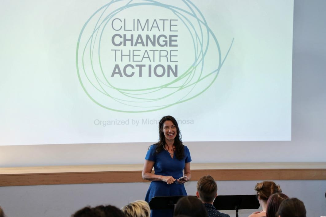 Climate Change Theatre Action event