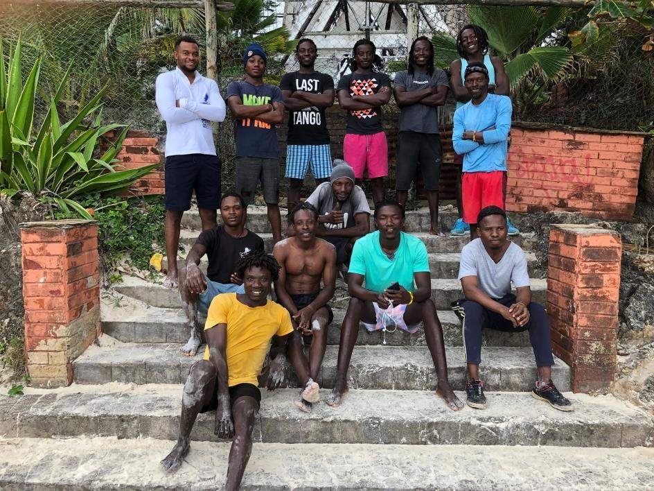 group of men in Kenya