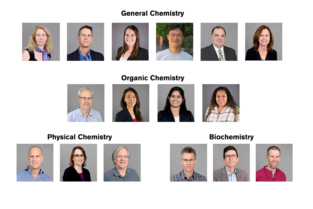 Online Biochemistry Faculty