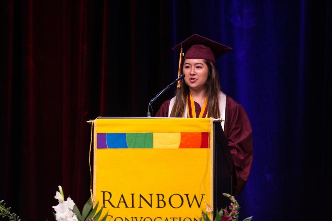 rainbow convocation