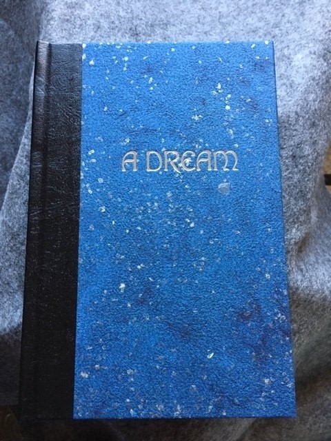 "Cover of ""A Dream: Selected Poems"" by Abramek Koplowicz, designed and illustrated by Kelly Houle, 2019. / Courtesy photo"