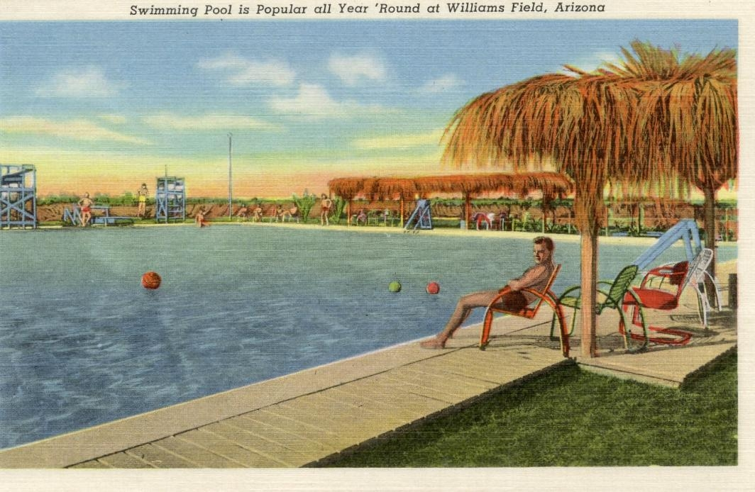 promotional image of pool at Williams Air Force Base