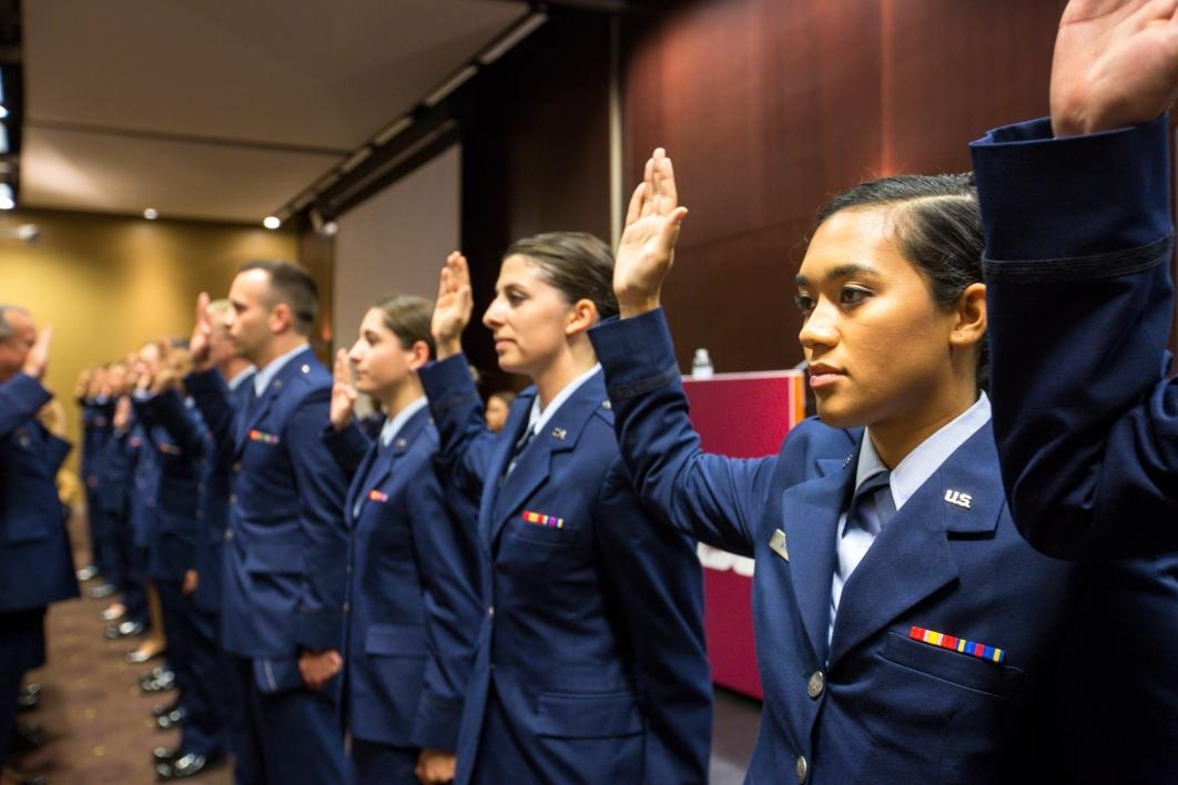 Spring 2016 Air Force ROTC Commissioning Ceremony