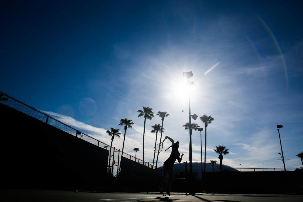 Alexandra Osborne Tennis game