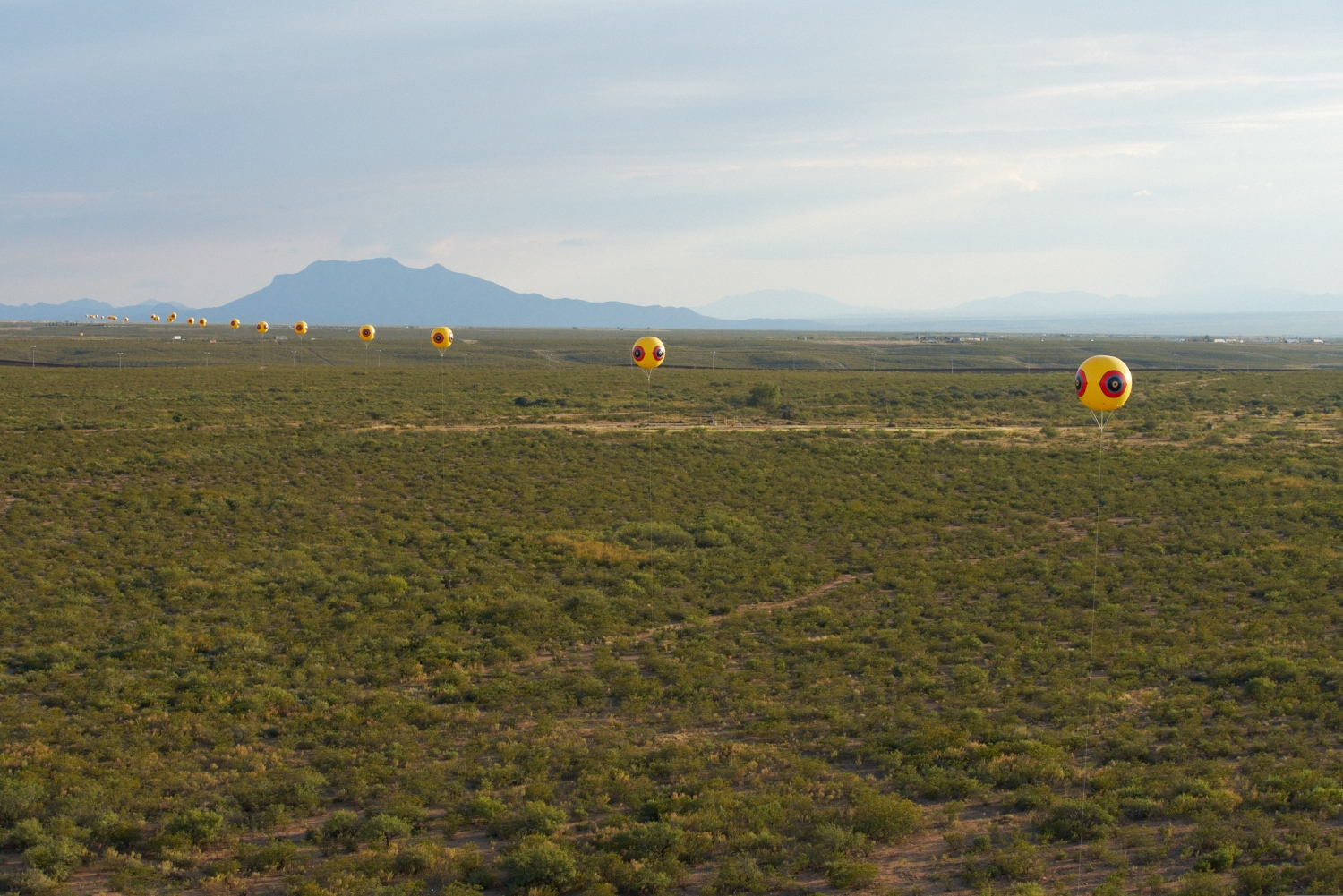 "Postcommodity ""Repellent Fence"""