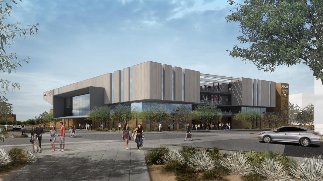 Artist rendering of the future Mayo ASU Alliance for Health Care building