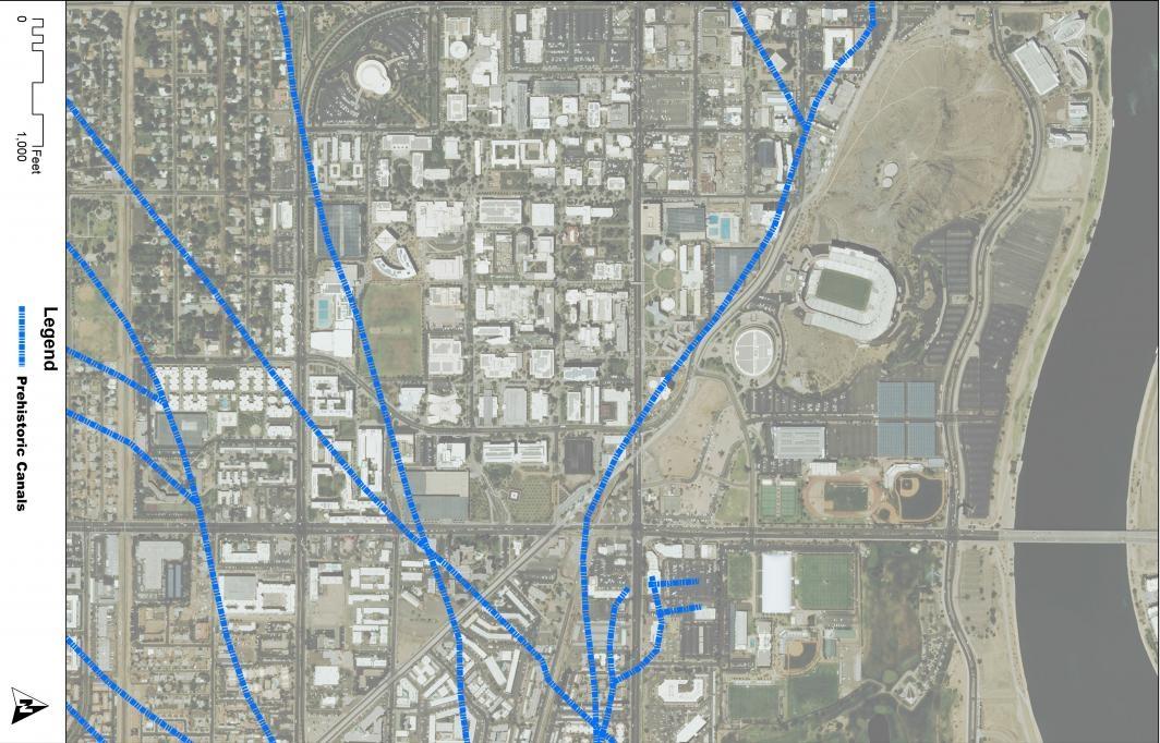ASU prehistoric canal system