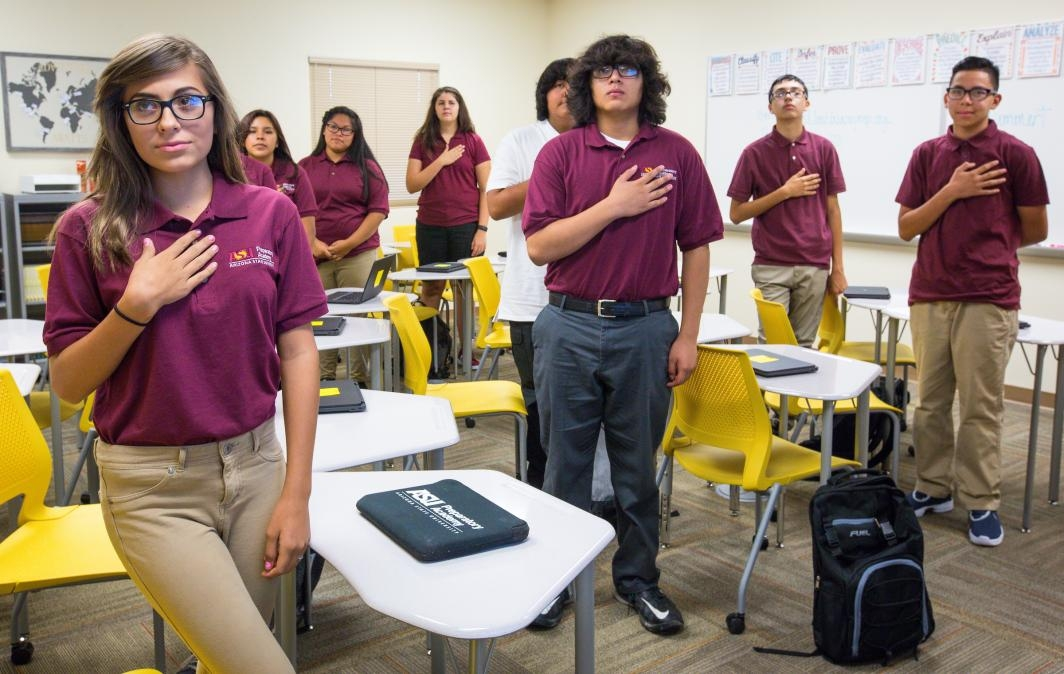 ASU Prep ninth-graders