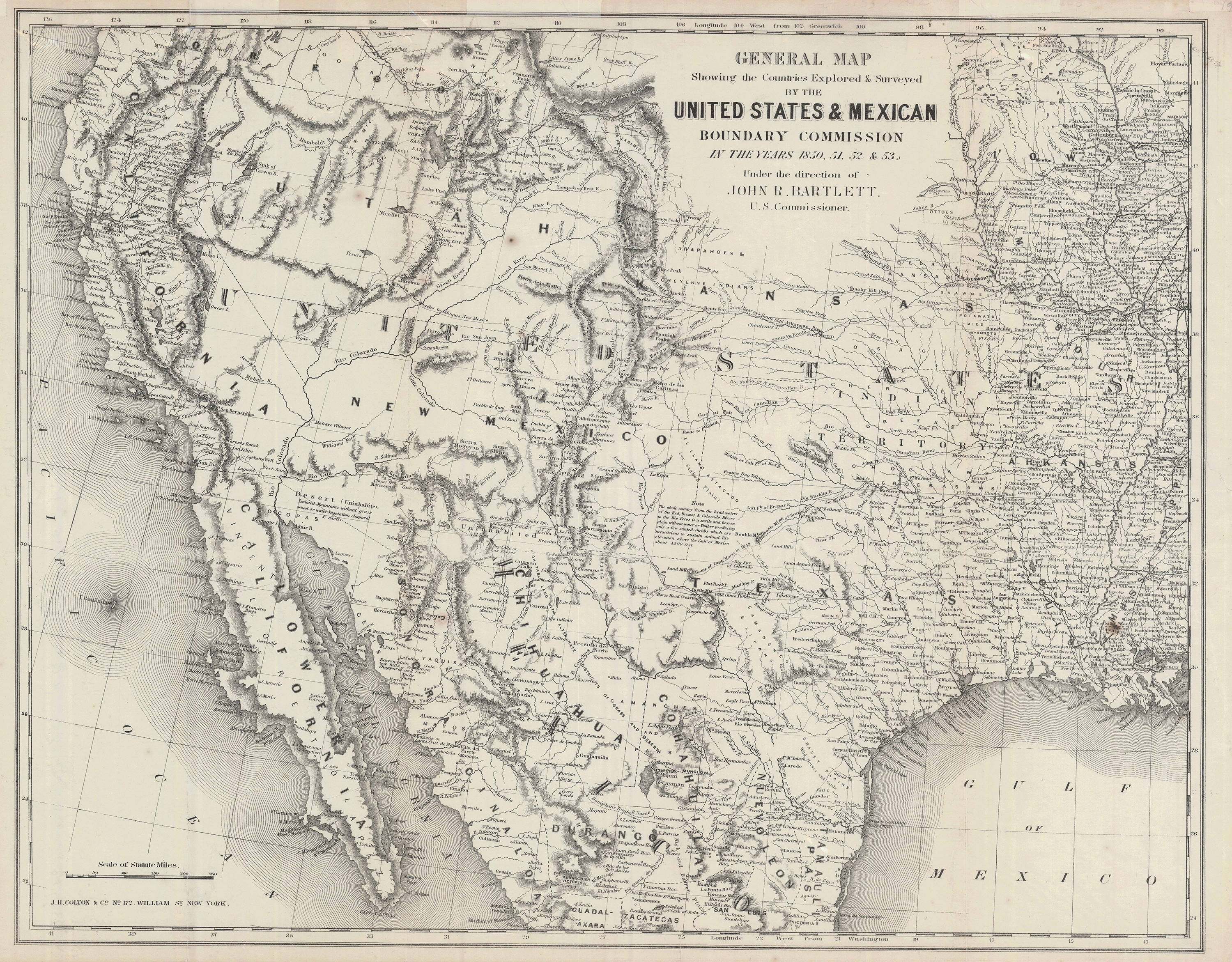 Historic maps show how the U.S.-Mexico border has changed ...
