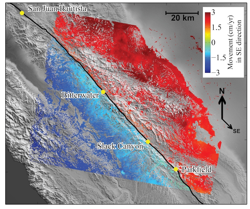 Slow Earthquakes On San Andreas Fault Increase Risk Of Large Quakes