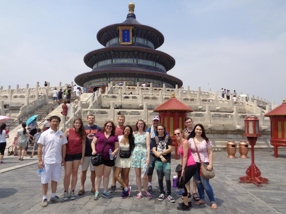 ASU students held month-long English-speaking internships in Beijing