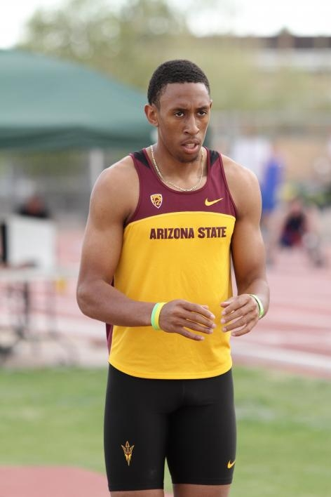 Track and field athlete Chris Benard