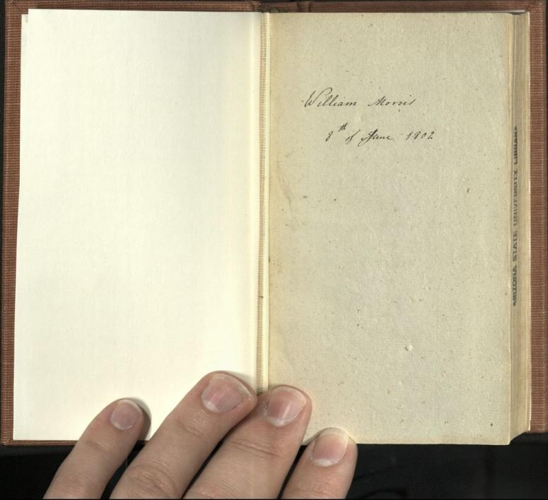inscription inside book