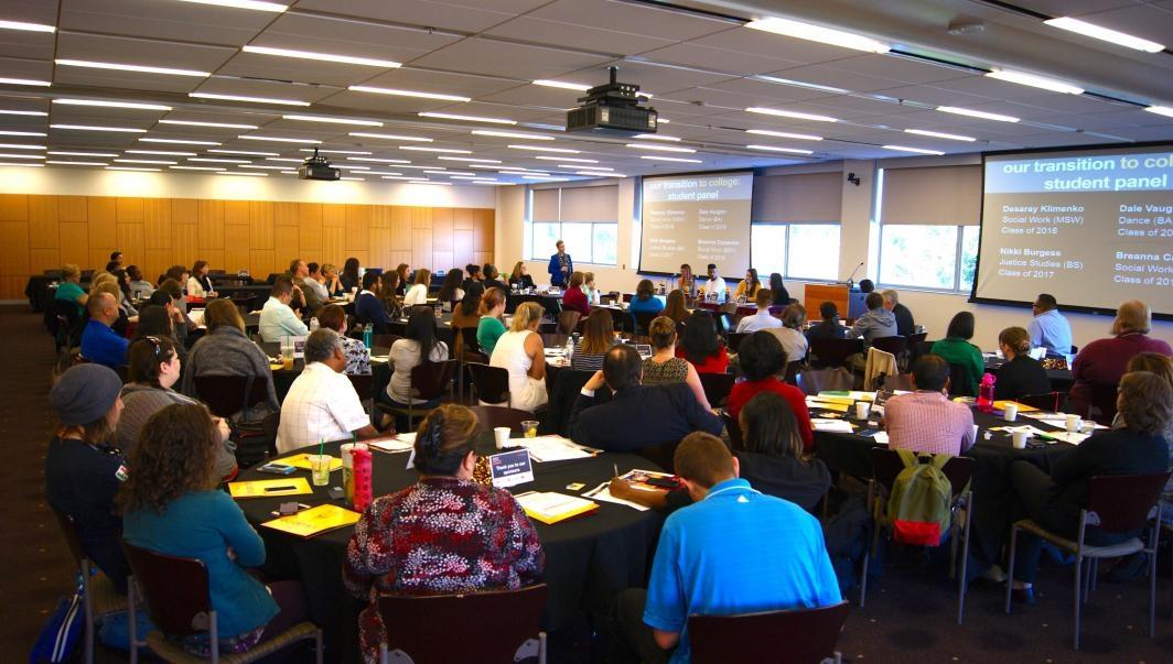ASU Bridging Success for Foster Alumni conference participants
