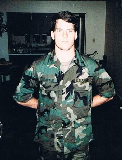 ASU Army ROTC Cadet James Barker