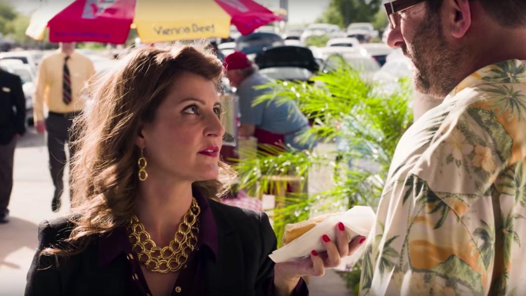 Nia Vardalos in the movie Car Dogs
